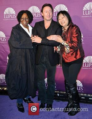 Whoopi Goldberg and Julian Lennon