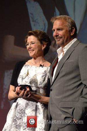 Annette Bening and Kevin Costner The American Riviera Awards Presentation held during the Santa Barbara International Film Festival at the...