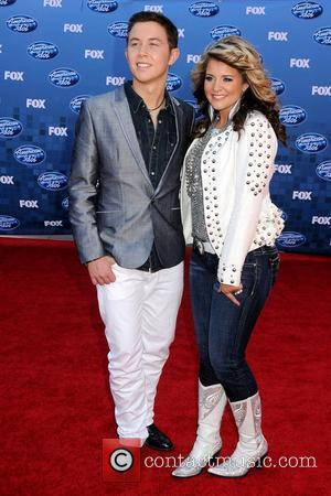 Scotty McCreery and Lauren Alaina The 2011 American Idol Finale at the Nokia Theater at LA Live  Los Angeles,...