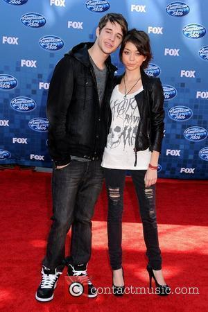 Matt Prokop and Sarah Hyland The 2011 American Idol Finale at the Nokia Theater at LA Live  Los Angeles,...