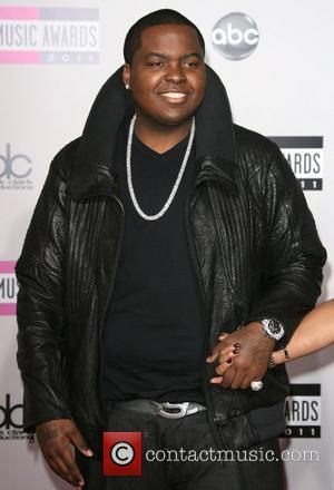 Sean Kingston 2011 American Music Awards held at Nokia Theatre L.A. Live - Arrivals Los Angeles, California - 20.11.11