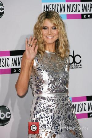 Heidi Klum and American Music Awards