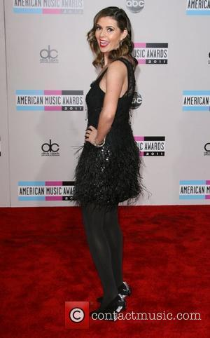 Carly Steel 2011 American Music Awards held at Nokia Theatre L.A. Live - Arrivals Los Angeles, California - 20.11.11
