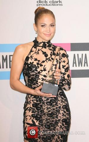 Jennifer Lopez 2011 American Music Awards held at the Nokia Theatre L.A. Live - Press Room Los Angeles, California -...