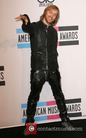 DJ David Guetta  2011 American Music Awards held at Nokia Theatre L.A. Live - Press Room  Los Angeles,...