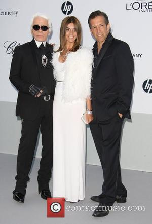 Karl Lagerfeld, Carine Roitfeld and Kenneth Cole