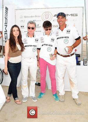 Meghan Walsh, John Walsh and Hayden Walsh World Cup Winners attend AMG Miami Beach Polo World Cup - Day 4...