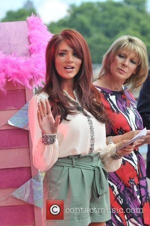 Amy Childs and Ruth Langsford