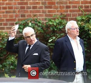 Mitch Winehouse The cremation of Amy Winehouse at Golders Green Crematorium  London, England - 26.07.11