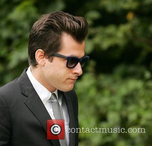 Mark Ronson The cremation of Amy Winehouse at Golders Green Crematorium  London, England - 26.07.11