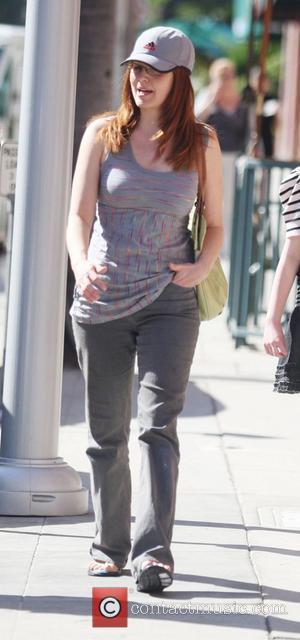 Amy Yasbeck out walking in Beverly Hills Los Angeles, California, USA - 03.05.11