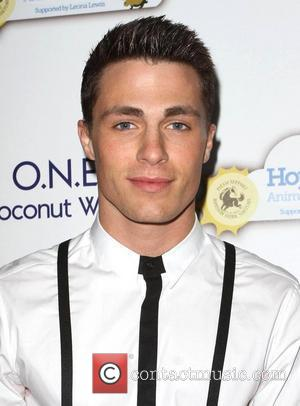Colton Haynes An Evening with Leona Lewis and Friends benefiting Hopefield Animal Sanctuary Los Angeles, California - 19.11.11