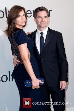 Ingrid Vandebosch and Jeff Gordon