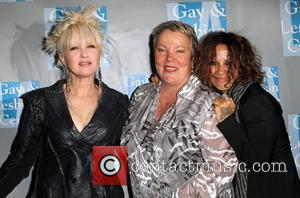 Cyndi Lauper and Linda Perry