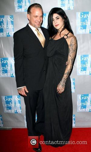 Jesse James and Kat Von D