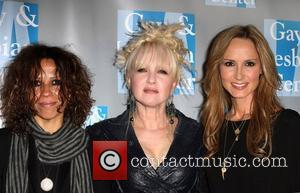 Linda Perry, Cyndi Lauper and Chely Wright 'An Evening With Women' 2011 to benefit The L.A. Gay and Lesbian Center...