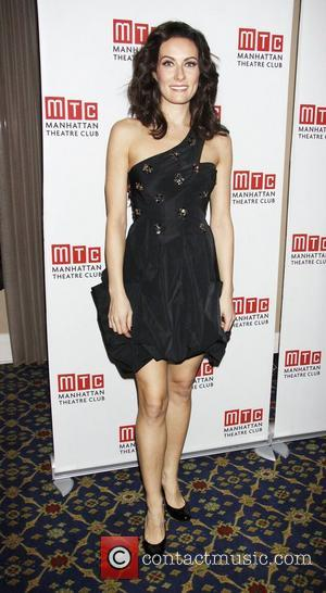 Laura Benanti  during the pre-show photo call for 'An Intimate Night', Manhattan Theatre Club's Annual Winter Benefit held at...