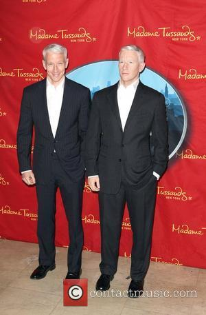 Anderson Cooper and Madame Tussauds