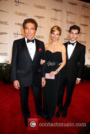 Steve Wynn, Andrea Hissom Wynn, Nick Hissom  2011 Andre Agassi Grand Slam For Children  Wynn Hotel and Casino...