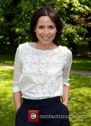 Andrea Corr of The Corrs  poses at RTE to promote her upcoming solo album with an in-studio concert for...
