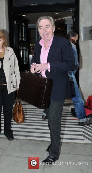 Andrew Lloyd Webber outside the BBC Radio 2 studios London, England - 04.04.11