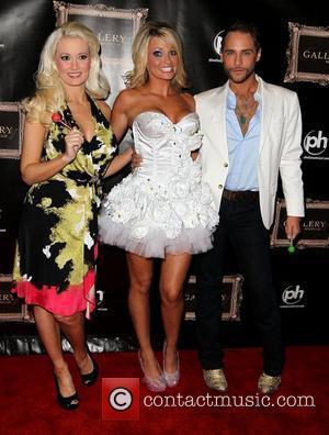 Holly Madison, Angel Porrino and Josh Strickland