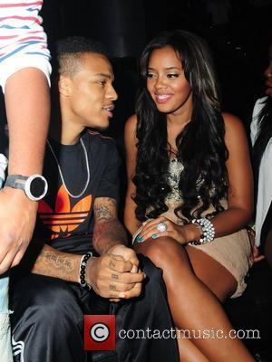 Bow Wow and Angela Simmons Angela Simmons celebrates her birthday with friends at Club Play Miami Beach Miami Beach, Florida...