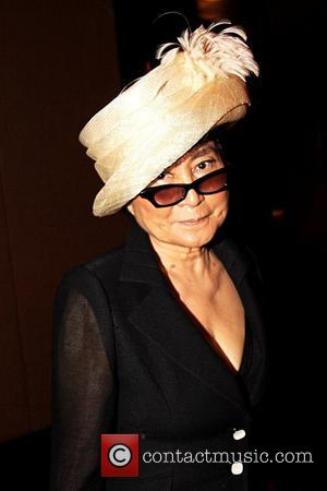Yoko Ono  Benefit dinner at the Mandarin Oriental Hotel for the White Nights Foundation following the U.S. Premiere of...