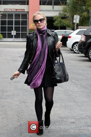 Anna Paquin departs a lunch in West Hollywood Los Angeles, California - 20.04.11