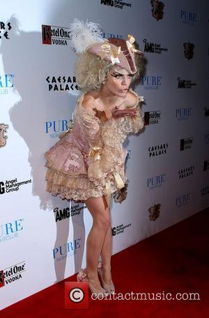 Annalynne Mccord and Caesars Palace