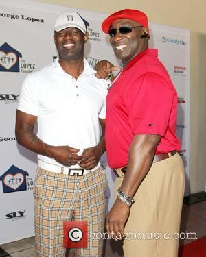 Brian McKnight and Michael Clarke Duncan