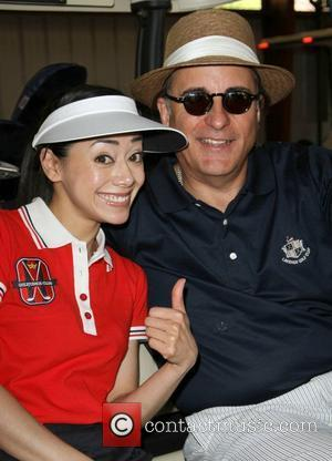 Aimee Garcia, Andy Garcia The 4th Annual Lopez Foundation Celebrity Golf Classic held at Riviera Country Club - Inside Pacific...