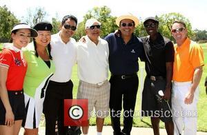Aimee Garcia, Christina Kim, Michael Pe–a, Cheech Marin, George Lopez, Don Cheadle, Michael G Wilson The 4th Annual Lopez Foundation...