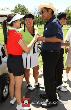 Aimee Garcia, Christina Kim, George Lopez The 4th Annual Lopez Foundation Celebrity Golf Classic held at Riviera Country Club -...
