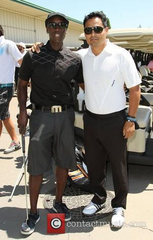 Don Cheadle, Michael Pe–a The 4th Annual Lopez Foundation Celebrity Golf Classic held at Riviera Country Club - Inside Pacific...