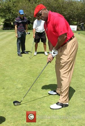 Michael Clarke Duncan The 4th Annual Lopez Foundation Celebrity Golf Classic held at Riviera Country Club - Inside Pacific Palisades,...