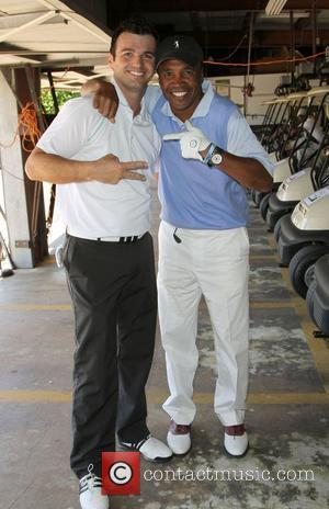 Tony Dovolani, Sugar Ray Leonard The 4th Annual Lopez Foundation Celebrity Golf Classic held at Riviera Country Club - Inside...
