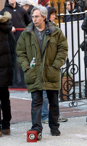 Director Paul Weitz on the set of 'Another Bullshit Night in Suck City' in Manhattan New York City, USA -...