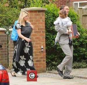 Holly Willoughby carries new baby Belle and her husband Dan and son Harry Ant McPartlin and wife Lisa host a...