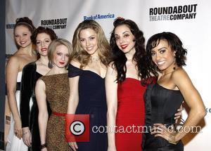 Cast and Sutton Foster