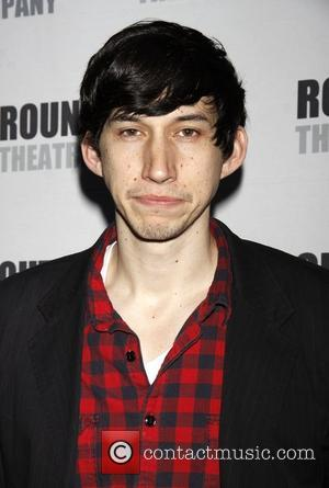 Adam Driver Opening night of the Broadway musical production of 'Anything Goes' at the Stephen Sondheim Theatre - Arrivals New...