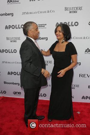 Rev Al Sharpton, Jonelle Procope Apollo Theater 2011 Spring Gala  New York City, USA – 13.06.11