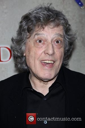 Tom Stoppard opening night of the Broadway production of 'Tom Stoppard's Arcadia' at the Ethel Barrymore Theatre - Arrivals New...
