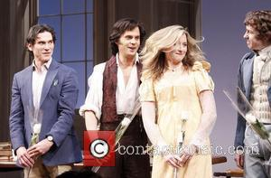 Billy Crudup, Tom Riley, Grace Gummer and David Turner  Opening night of the Broadway production of 'Tom Stoppard's Arcadia'...