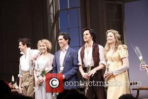 Raul Esparza, Lia Williams, Billy Crudup, Tom Riley and Grace Gummer  Opening night of the Broadway production of 'Tom...