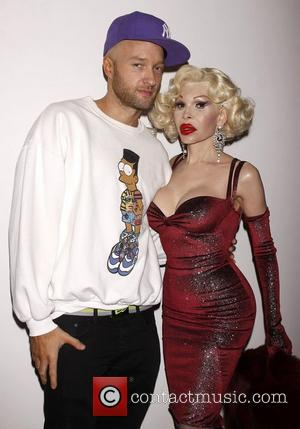 Cazwell and Amanda Lepore Opening night of the Off-Broadway production of