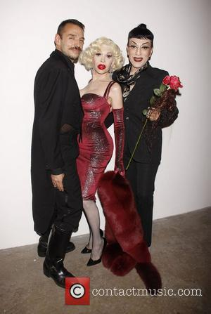 Basil Twist, Joey Arias and Amanda Lepore Opening night of the Off-Broadway production of