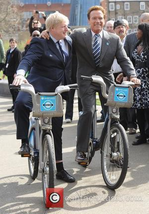 Boris Johnson and Arnold Schwarzenegger