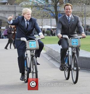 Boris Johnson and Arnold Schwarzenegger