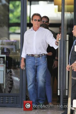 Arnold Schwarzenegger and Katherine Schwarzenegger